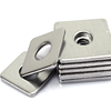 80*80*2.5 Galvanized square flat washer with 12mm hole