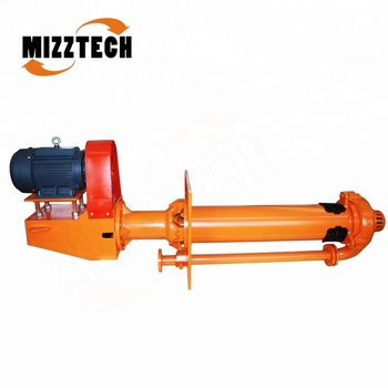 China MIZZTECH 6/4 ZD75-MAH Best Quality Centrifugal Slurry Pump Selection Used in the Mining Industry to Transportmud Particles