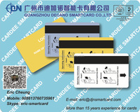 RFID Dual interface Magnetic stripe access control card