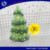 New arrival ceramic christmas tree light house decoration for yard decor