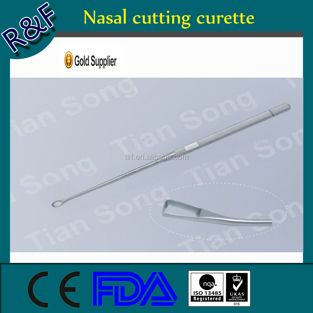 Surgical medical resuable cutting curette