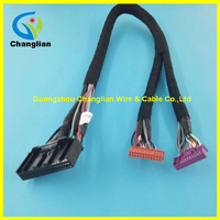 Factory Price Male to Female 2 Pin auto wiring harness