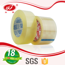 Wholesale BOPP self adhesive transparent tape/bopp adhesive tape jumbo roll/packing tape