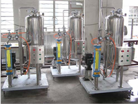 carbonated soft drink carbonator/co2 mixing machine