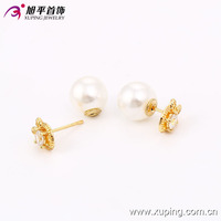 xuping fashion earring jewellery stud earrings 90123