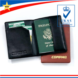 Custom PU Leather Passport Card Holder ,Passport Cover Leather