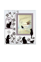 Fashionable and high quality cat photo frame for wholesales interior goods from Japan