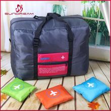 2017 hot selling ultra light gym duffle foldable travel bag