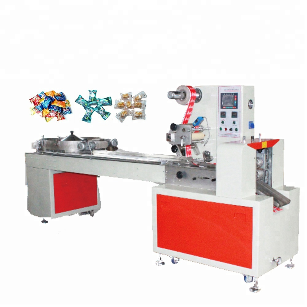JB-800 automatic single sport ball bubble gum sachet pillow type packing machine