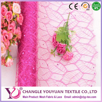 100% polyester spider mesh fabric with oeko-tex