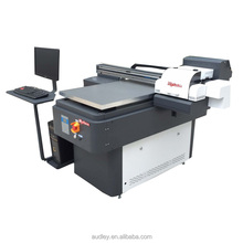 Audley UV6090 Professional Manufacture high quality double heads 6 colors printing UV printer for Ceramic Tiles