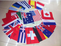 Wholesale triangle flags,bunting string flags for promotion