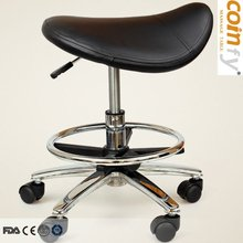 COMFY MA07 Deluxe Revolving Saddle Stool