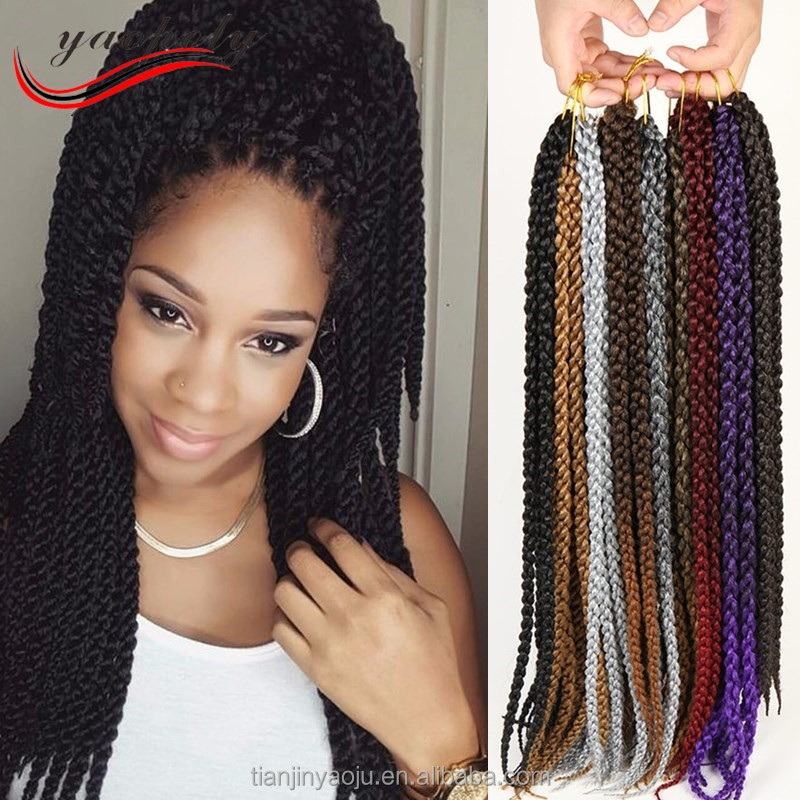 wholesale 2017 best selling products 3d Twist Crochet Braids in hair extension <strong>human</strong>