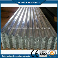 0.3mm thickness SGCH galvanized stel roofing sheet curve corrugated sheet steel