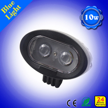 led forklift worklight with blue beam 10w forklift warning light rechargeable blue point led work light