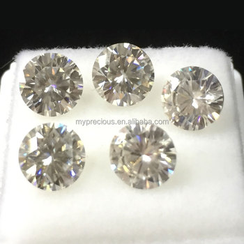 Moissanite Round Cut 6.5mm*6.5mm