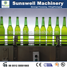 Monoblock carbonated drink filling machine pet or glass bottle gas/aerated drink carbonated drink filling