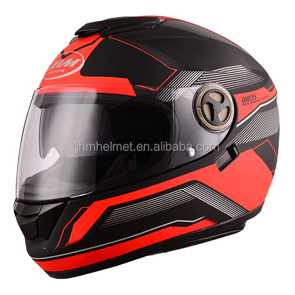 2017 Popular safety custom full face motorbike helmet