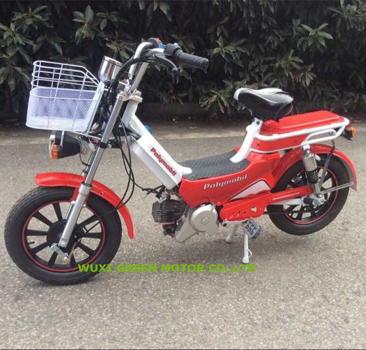cheap cub mini moped with pedal loncin 50cc engine