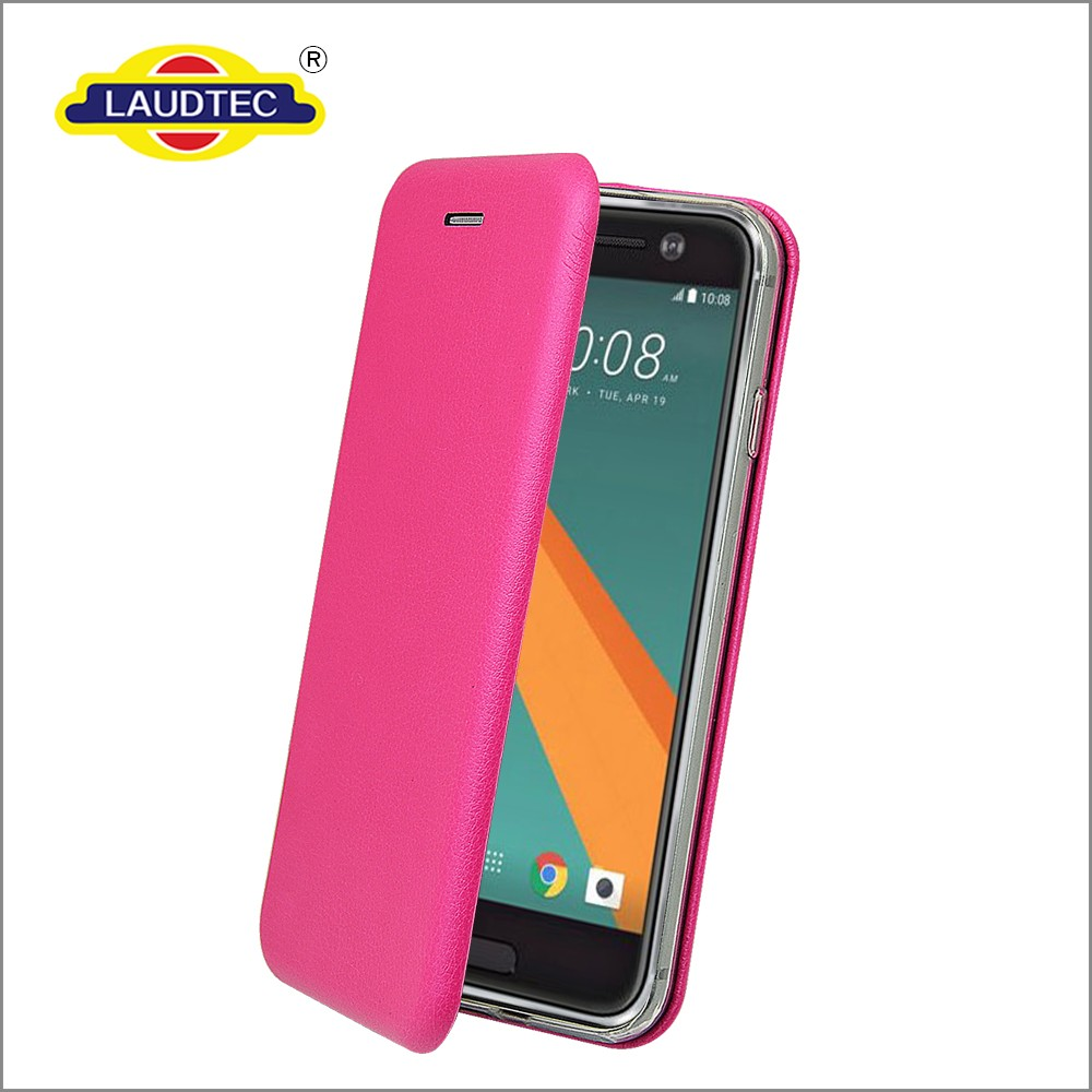 Laudtec Newest Arrival Flip Magnetic Slim PU Wallet Case/Shell Cover For HTC <strong>M10</strong>