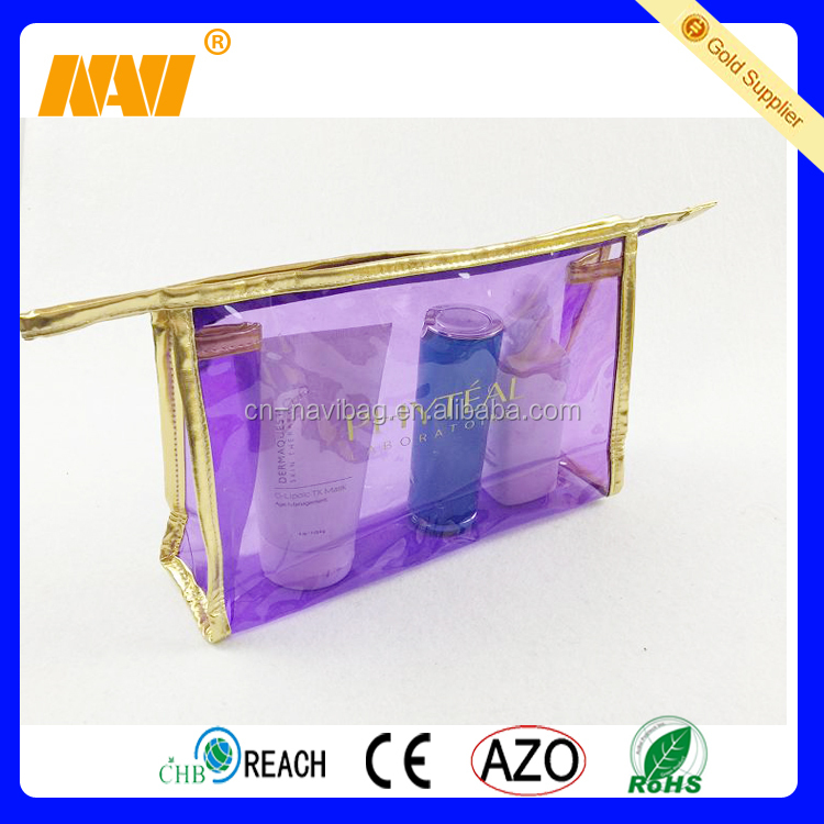 clear pvc cosmetic bag