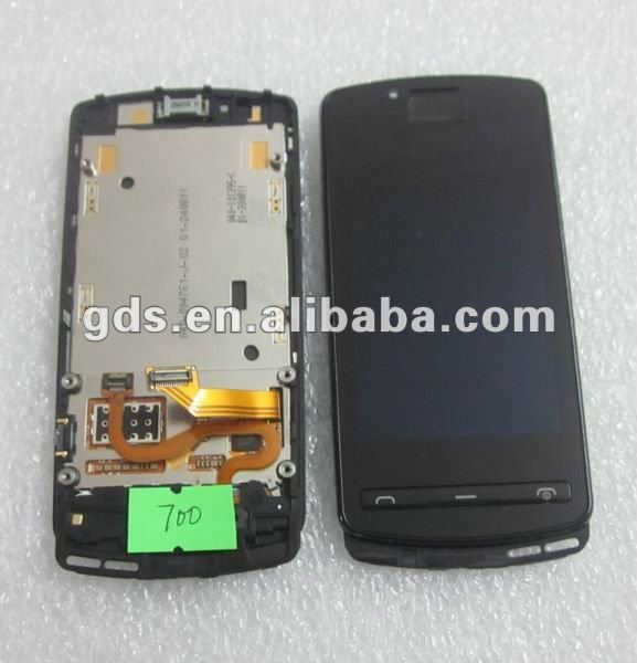 lcd display digitizer touch screen +keypad Assembly for nokia 700