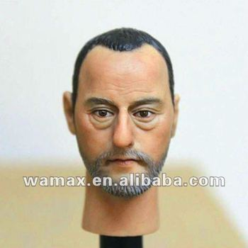 figures head,figure head sculpt model,action figures