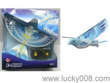 radio control bird toy ,Rc flying bird with sound/LED header light