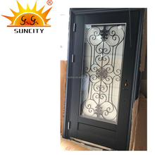 Best price lowes new wrought iron grill window metal door designs security door