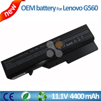 Original rechargeable 11.1v 4400mah li-ion battery laptop replacement parts for Lenovo IdeaPad G560 Z560 G460