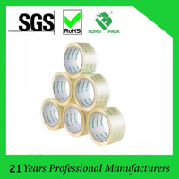High Quality BOPP Super Clear Adhesive Packing Tape, Crystal Sealing Tape