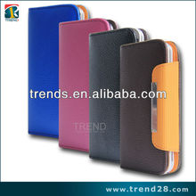 new products 2013 flip leather phone case for samsung galaxy s4