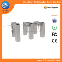 RFID Manual Waist High Tripod Turnstile Gate