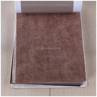 100% Polyester Plain fire retardant chenille fabric for making rugs/sofa cloth