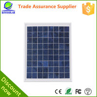 A grade custom size factory direct price 40w polycrystalline solar panel