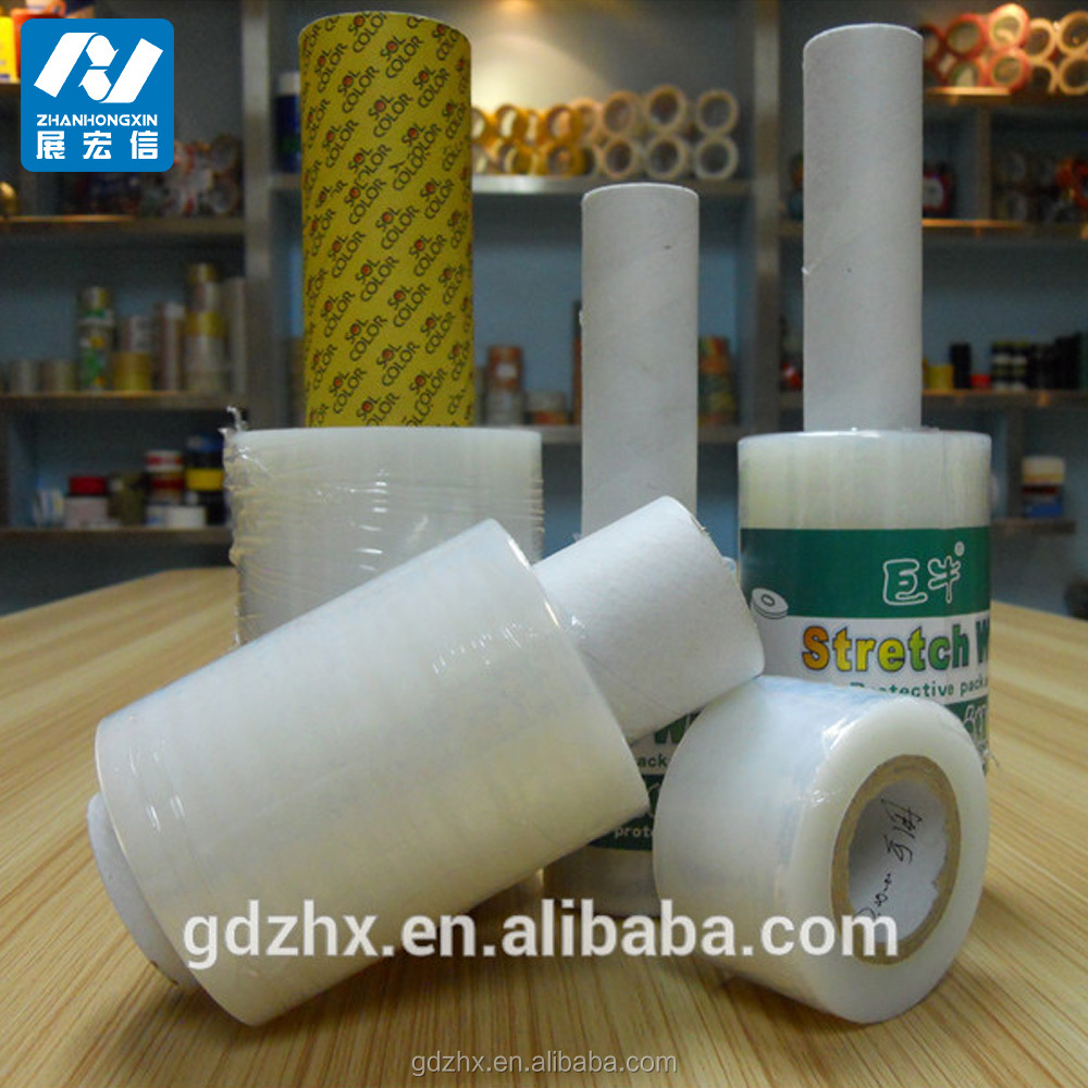 pe flexible packaging film, pallet wrapping stretch film, lldpe jumbo roll stretch film