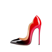New fashion sexy pointed toe lady office shoes custom made high heel 12 cm shoes