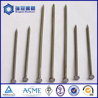 ISO Standard brand fence u or U type hot dipped iron nails