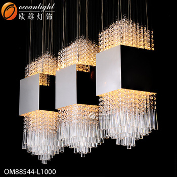 romantic chandelier,rectangular chandelier OM88544-L1000