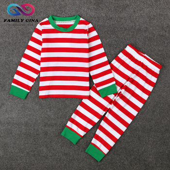 Wholesale Monogram Christmas Kids Pajamas