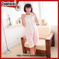 new style beautiful girl's plus size cheap sexy see through sleepwear
