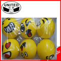 wholesale smile PU stress ball for kids