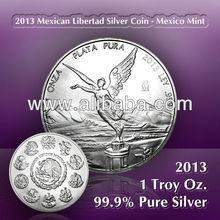 china plant 1 troy oz 999. custom old british indian pure silver coin