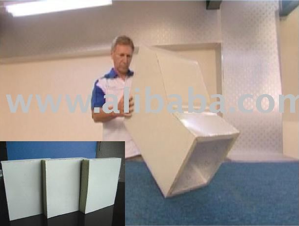 best products: Super TD PIR Pre Insulated Air Duct Panel (One Side Aluminium Colour Composite 200 Micron)