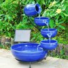 plastic cheap outdoor garden decoration water fountains