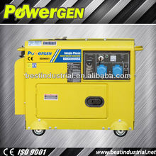 Hot Seller!!! with handle and wheels,auto start 5kw silent diesel generator