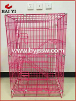3 Tier Cheap Wholesale Metal Cat Cages With Good Quality