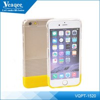 Veaqee Wholesale Best Price Ultra Thin Crystal Clear Mobile Phone Case for iPhone 6 / 6S Transparent PC Cases Covers