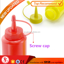 8oz Plastic PE squeeze salad bottle